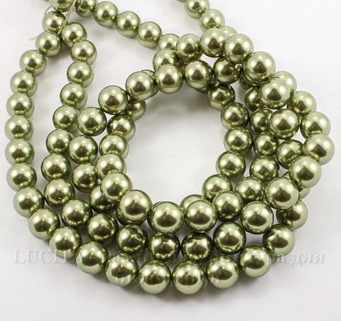 5810 Хрустальный жемчуг Сваровски Crystal Light Green круглый 12 мм