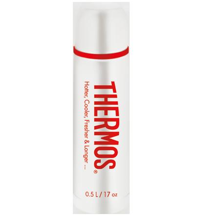 Термос Thermos Classique белый (0,5 литра)