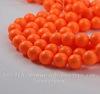 5810 Хрустальный жемчуг Сваровски Crystal Neon Orange круглый 12 мм
