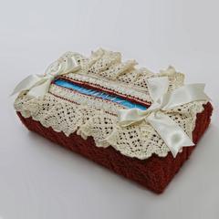 Салфетница для бумажных полотенец Rombetti бордовая от Old Florence