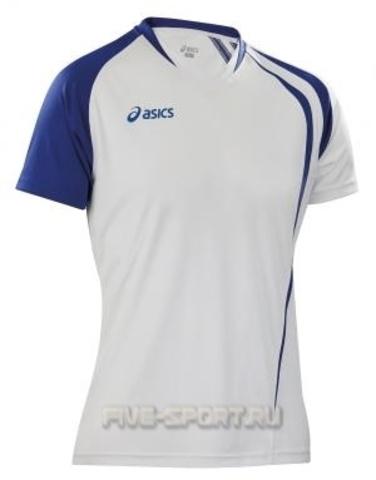 Asics T-shirt Fan Man футболка волейбольная white