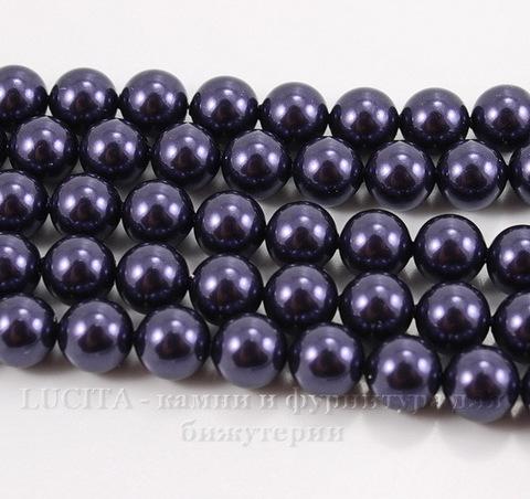 5810 Хрустальный жемчуг Сваровски Crystal Dark Purple круглый 8 мм , 5 шт ()