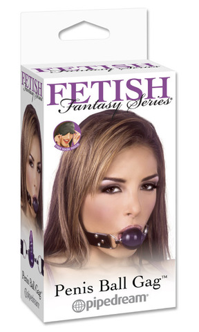 БДСМ кляп PENIS BALL GAG - Fetish Fantasy