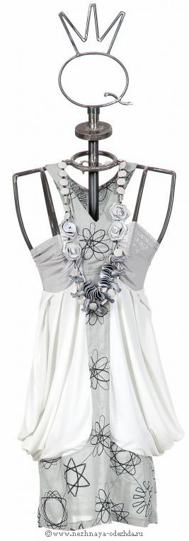 Короткое летнее платье Save The Queen