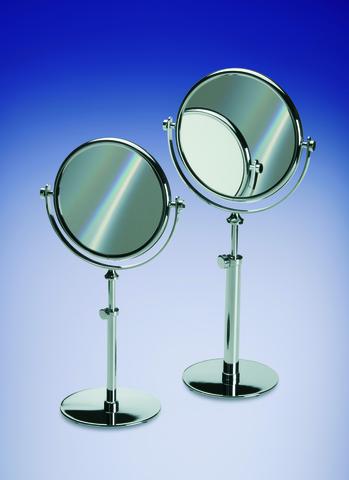 Элитное зеркало косметическое 99131CR 5X Plain Crystal от Windisch
