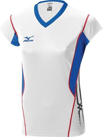 Футболка волейбольная Mizuno Premium W'S Cap Sleeve white