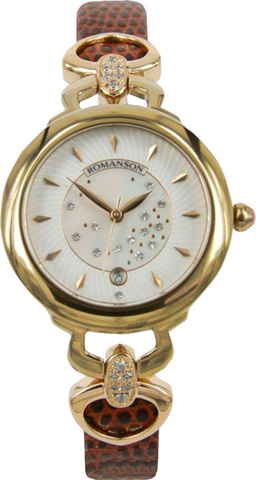 Купить Наручные часы Romanson RN2622QLGWH по доступной цене