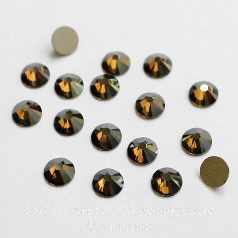 2058 Стразы Сваровски холодной фиксации Crystal Bronze Shade ss12 (3,0-3,2 мм), 10 штук ()