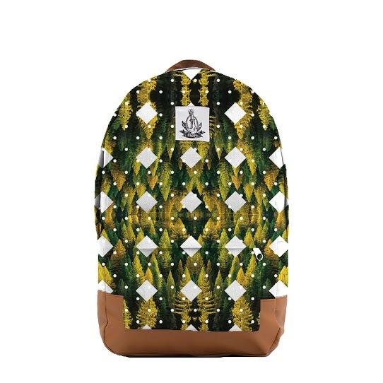 Рюкзак ЯКОРЬ Малый Бот с принтом FOREST