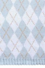 Элитный плед детский Imperio 252 голубой от Luxberry