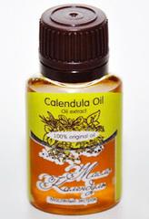 Косметическое масло КАЛЕНДУЛЫ экстракт/ Calendula Oil  Refined / нерафинированное/ 20 ml