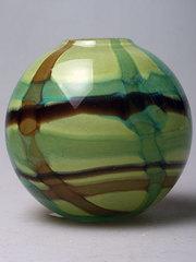 Ваза шар зеленый 1107-8