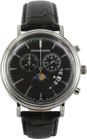 Купить Наручные часы Romanson TL1276HMWBK по доступной цене