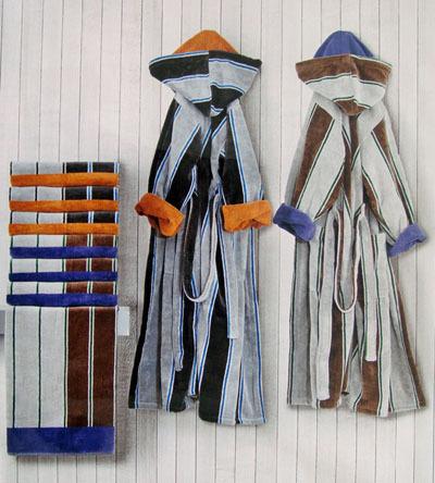 Наборы полотенец Набор полотенец 2 шт Carrara Colledge коричневый nabor-italyanskih-polotenec-colledge-ot-carara.jpg