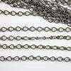 Винтажная цепь (звено 4х3 мм) (оксид серебра), 10 cм ()
