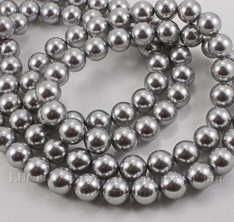 5810 Хрустальный жемчуг Сваровски Crystal Light Grey круглый 12 мм