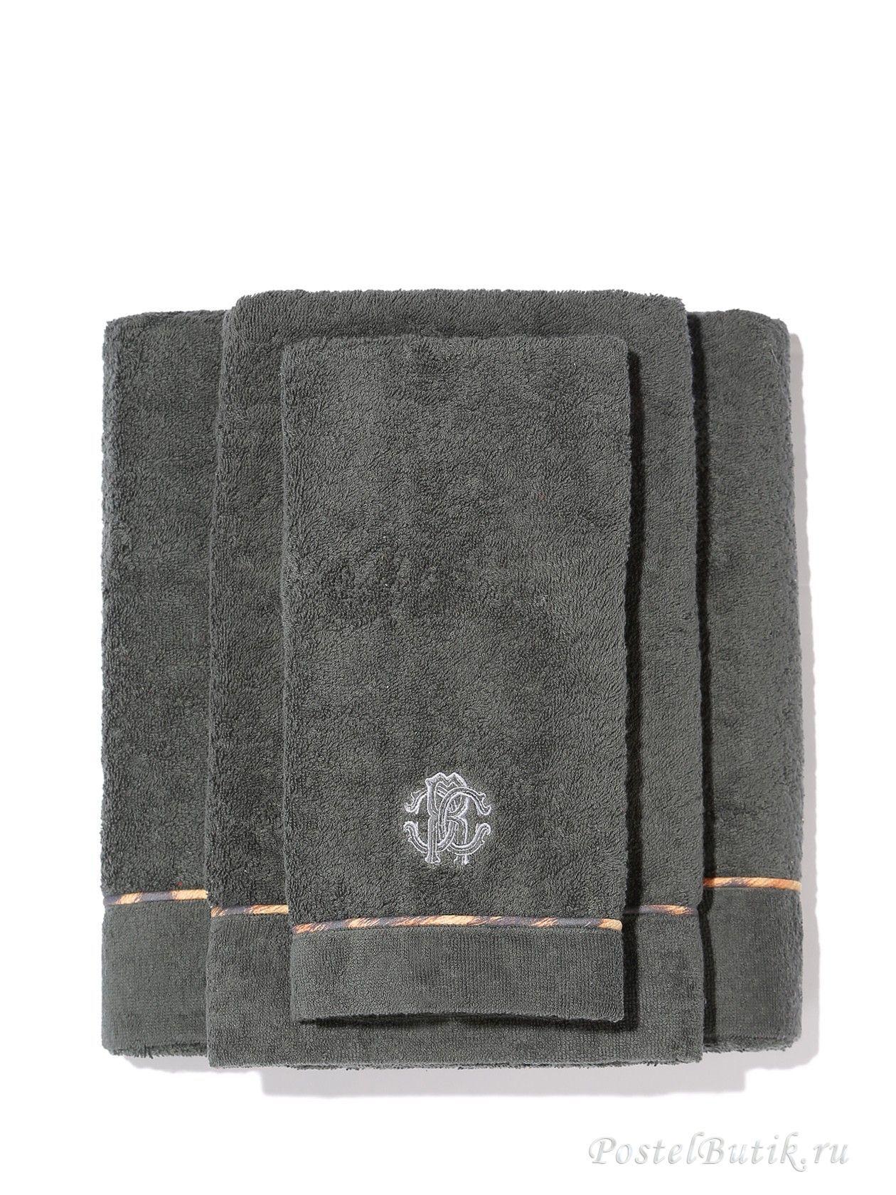 Наборы полотенец Набор полотенец 2 шт Roberto Cavalli Basic темно-серый elitnie-polotentsa-basic-temno-serie-ot-roberto-cavalli-italiya-nabor.jpg