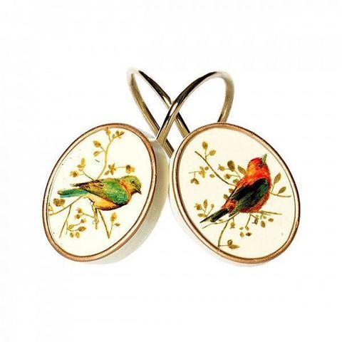 Набор из 12 крючков для шторки Gilded Birds от Avanti