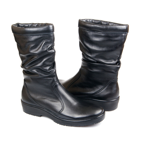 624459 п/сапоги женские. КупиРазмер — обувь больших размеров марки Делфино