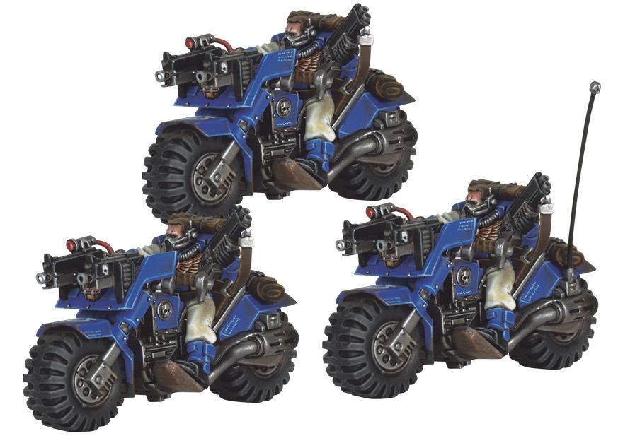 Space Marine Scout Bike Squad