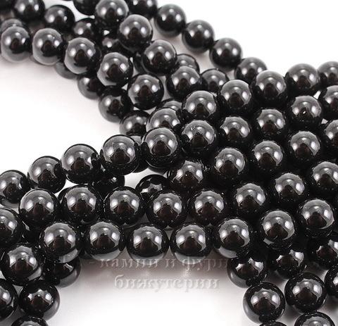 5810 Хрустальный жемчуг Сваровски Crystal Mystic Black круглый 8 мм, 5 шт