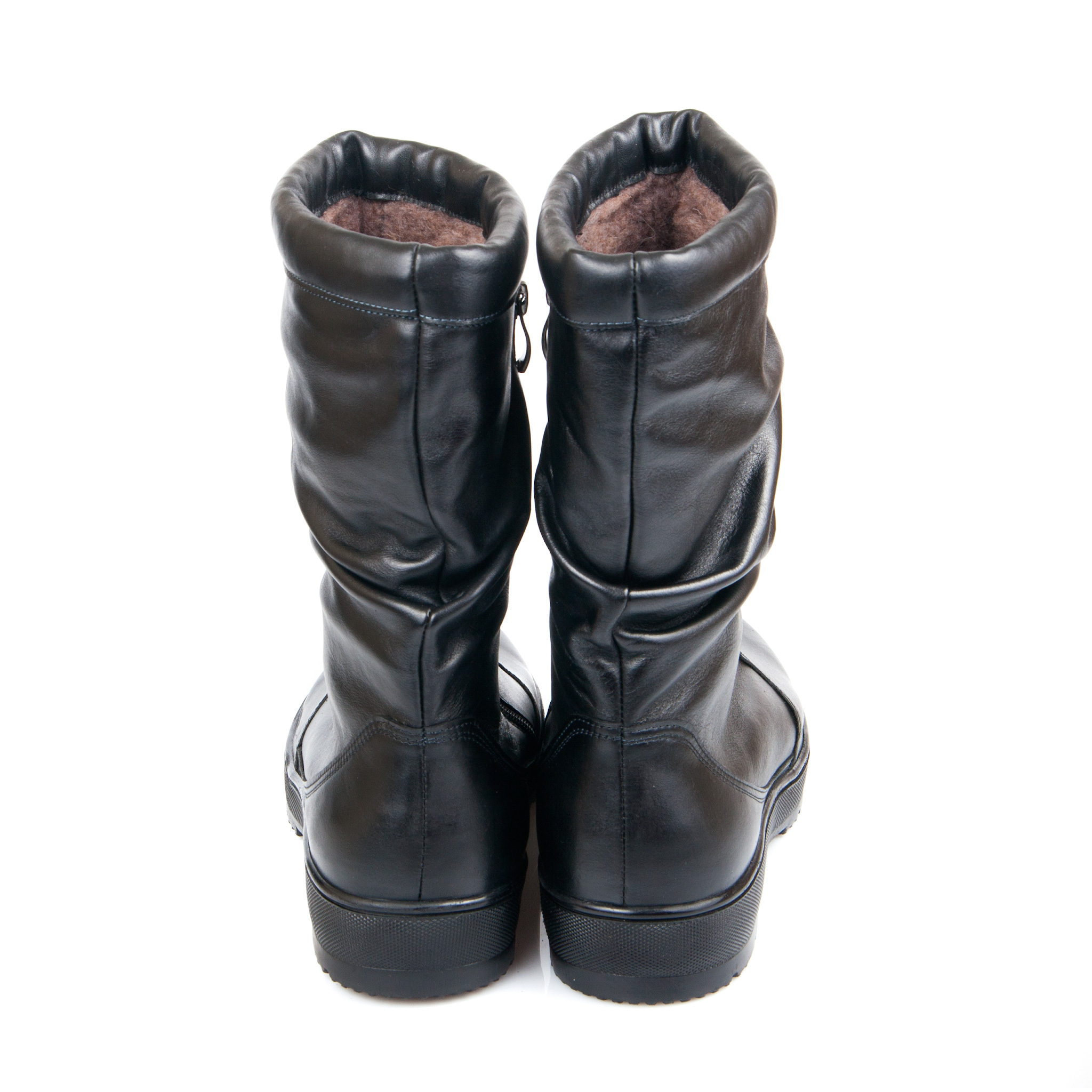 624459 п/сапоги женские больших размеров марки Делфино