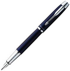 Перьевая ручка Parker IM Metal, F221, цвет: Blue CT, перо : F, S0856210