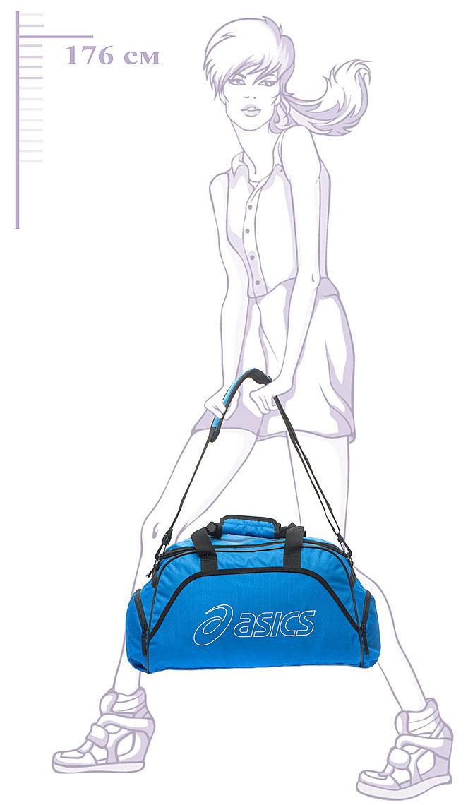 Сумка Asics medium DUFFLE Blue