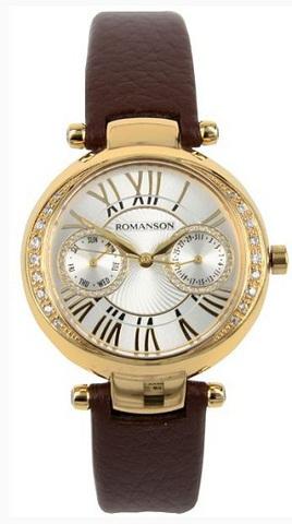Купить Наручные часы Romanson RL2612QLGWH по доступной цене
