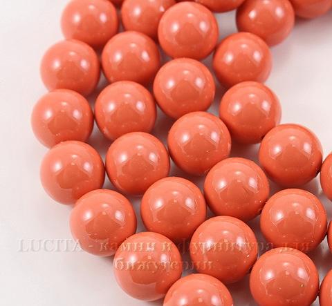 5810 Хрустальный жемчуг Сваровски Crystal Coral круглый 12 мм