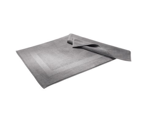 Элитный коврик для ванной Waterside серебряный от Hamam