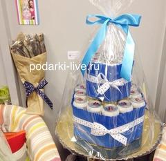 Торт из пива и букет из воблы П15-09