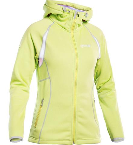 Толстовка флисовая 8848 Altitude Mei Sweat Yellow женская