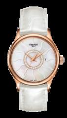 Женские швейцарские золотые часы Tissot T-Gold T914.210.46.116.00