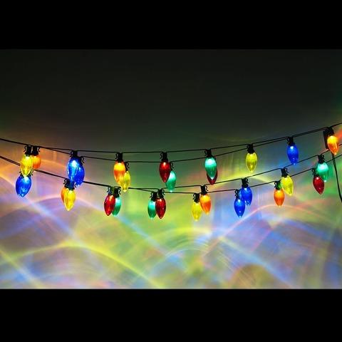 Гирлянда светодиодная «Стиляги мульти», CL113 (Feron)