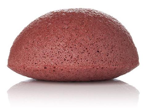 Спонж Конняку с красной глиной