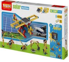 Конструктор ENGINO Solar Power S10 Solar Machines 8 in 1, серия Солнечная Энергия, машины
