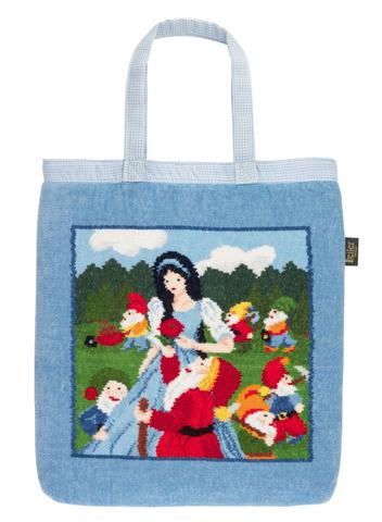 Элитная сумка шенилловая детская Marchen Snow White от Feiler