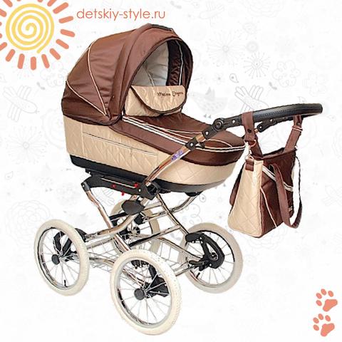 """Коляска Stroller B&E """"Maxima Elegance"""" 3в1"""