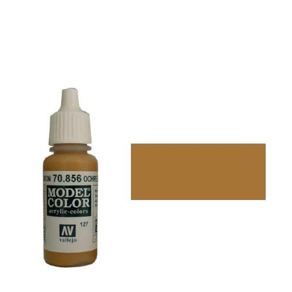 127. Краска Model Color Охра Коричневая 856 (Ochre Brown) укрывистый, 17мл