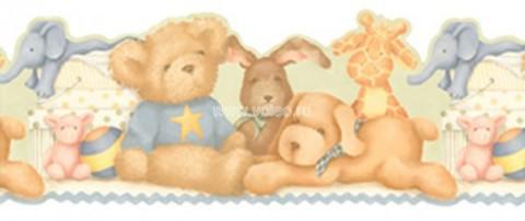 Бордюр Aura Honey Bunny LK1439BYK, интернет магазин Волео