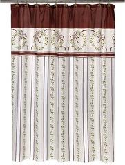 Элитная шторка для ванной Victorian Christmas от Carnation Home Fashions