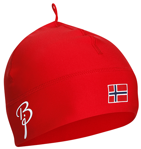 Шапка лыжная Bjorn Daehlie Hat Polyknit Flag Red