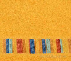 Полотенце 100х150 Caleffi Yupi желтое