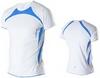 Футболка Noname Running 2011, белый-синий