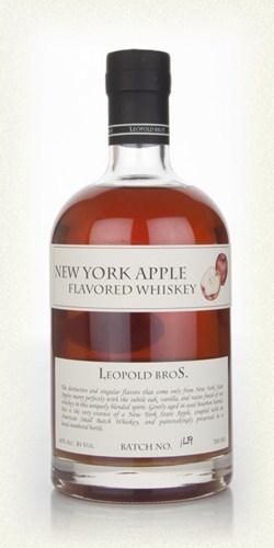 Виски «Нью-Йорк Эппл Флейворид Виски» 0,7л  Леопольд Бразерс с яблочным сиропом