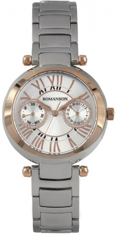 Купить Наручные часы Romanson RM2612BLJWH по доступной цене