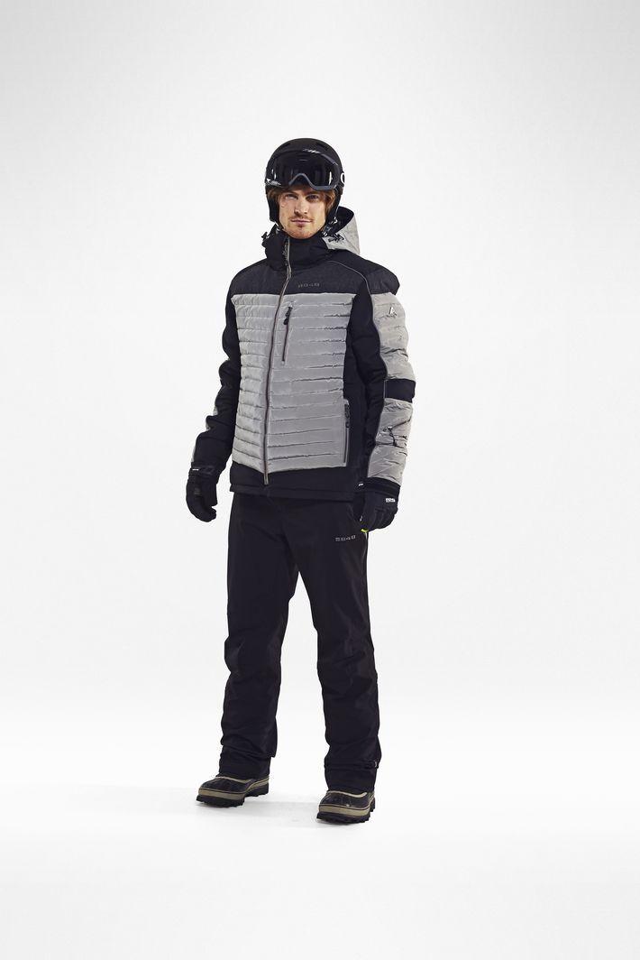 Мужская горнолыжная куртка 8848 Altitude TERBIUM NOUGAT (792460) фото