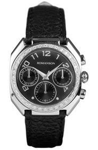 Купить Наручные часы Romanson RL1208BLWBK по доступной цене