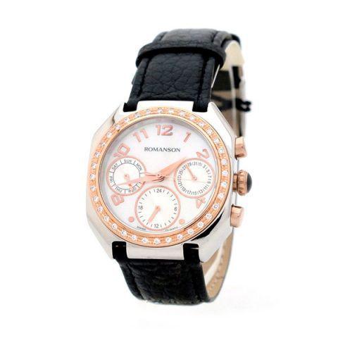 Купить Наручные часы Romanson RL1208BLJWH по доступной цене
